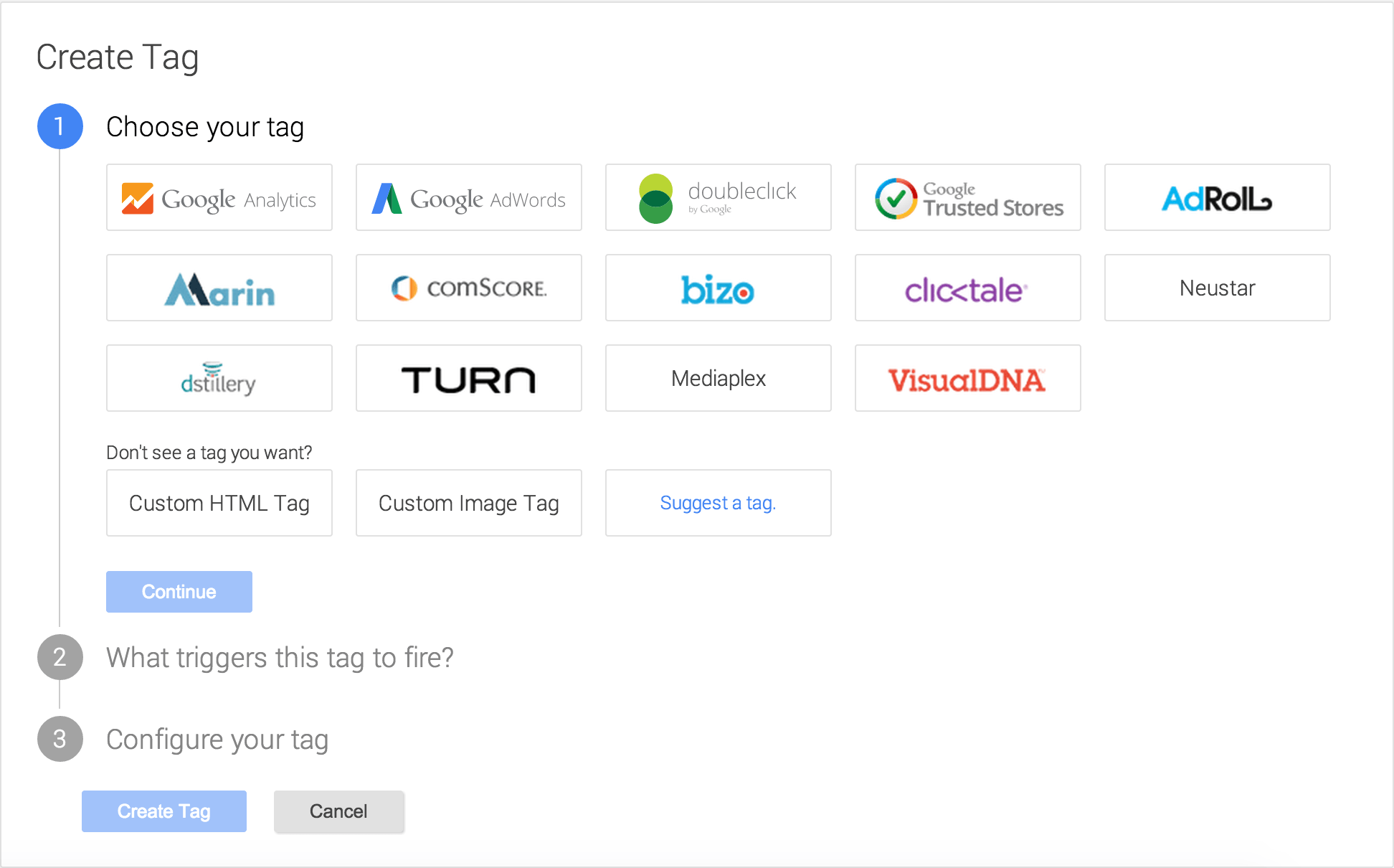 Tag Management Sytems - Google Tag Manager