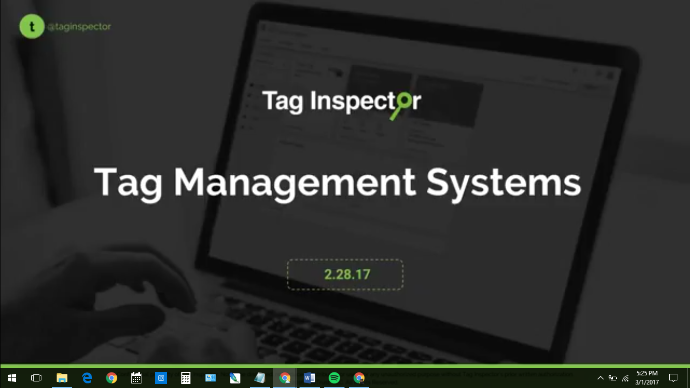 Getting to Know Tag Management Systems