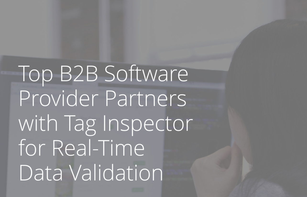 Top B2B Software Provider Partners with Tag Inspector