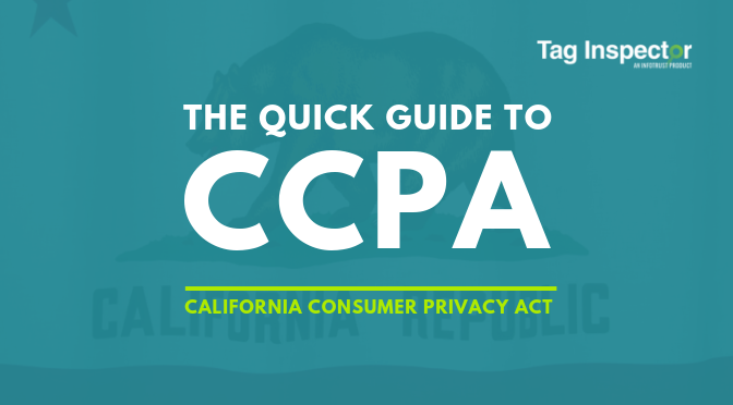 CCPA California Consumer Privacy Act Guide