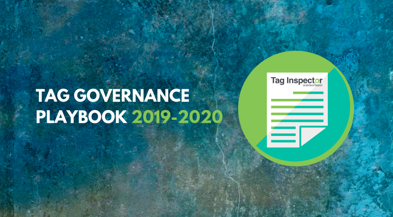 Tag Governance Playbook 2020