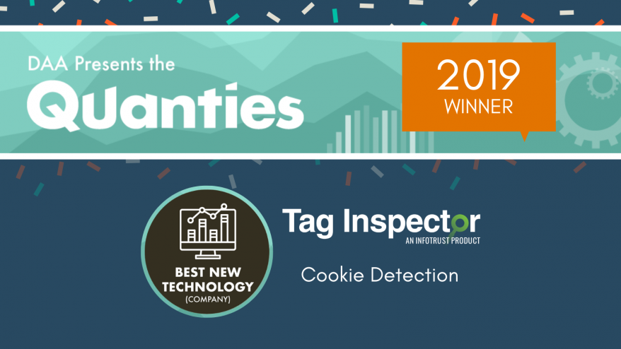 Tag Inspector DAA Quanties Winner Best New Technology