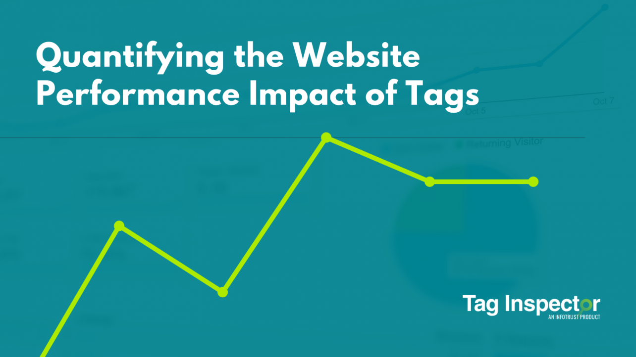 Tag impact on website performance